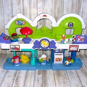 Fisher Price Little People Town Center Playset